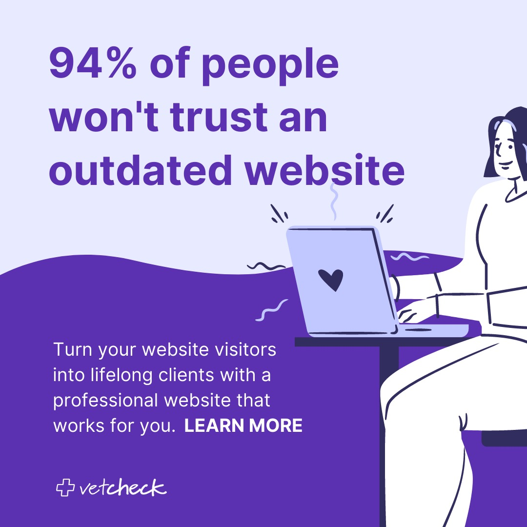 VetCheck Website Design